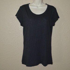 Sz M Rag & Bone Black Short Sleeve T-Shirt